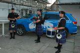 Drei schottische Musiker