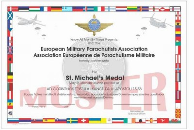 St Michaels Medaille