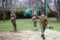 Springen an der polnischen Offiziersschule