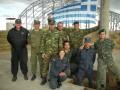 Adi mit der griechischen Gruppe