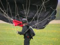 Einholen des Fallschirms