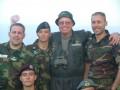 Adi with his Italy comrades