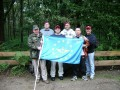 EMFV-Mitglieder beim Airborne March