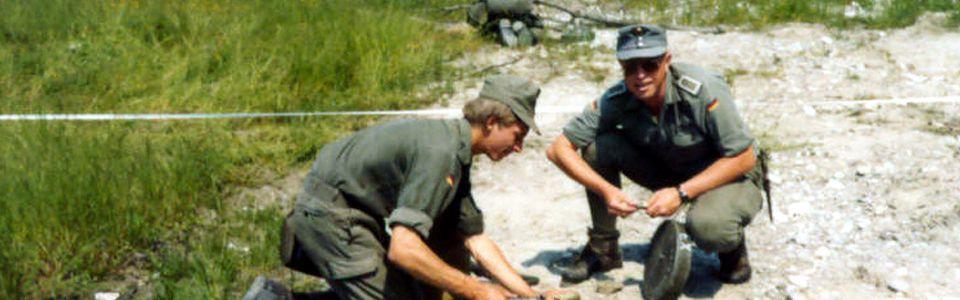 Meine Militärzeit beim Gebirgspionierbataillon 8 in Brannenburg