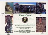 Letter of Appreciation Iraq