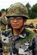 Captain Lester D. Saob jr