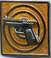 Royal Thai Navy Pistol Badge SENIOR