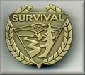 Survival Badge in GOLD Medal