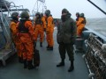 An Bord der Wangerooge
