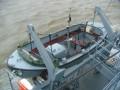 Ein Rettungsboot der Wangerooge