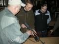 Spiess Manfred bei der Waffenausbildung