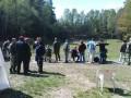 Schießen aus hundert Meter