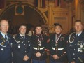 Gruppenbild mit Kameraden