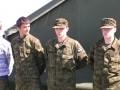 Junge estnische Soldaten