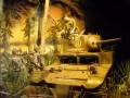 Eine Szene aus dem Pazifik-Krieg