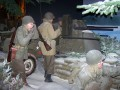 Szene aus der Ardennenschlacht