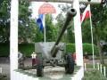 Eine Panzerabwehrkanone