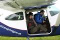 Abflug mit der Cessna