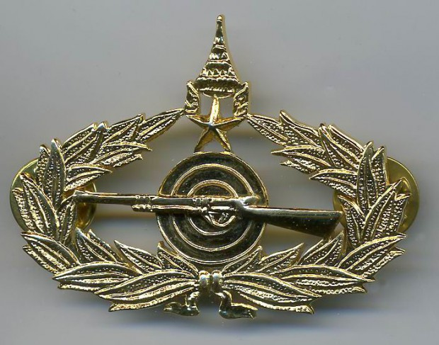 royal-thai-army-rifle-expert-badge
