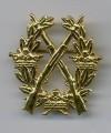 Swedish Army Rifle Badge GOLD