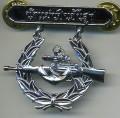 Royal Thai Navy Rifle Senior Badge medal