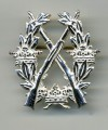 Swedish Army Rifle SILVER Badge medal