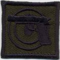 Royal Thai Navy Pistol Badge cloth