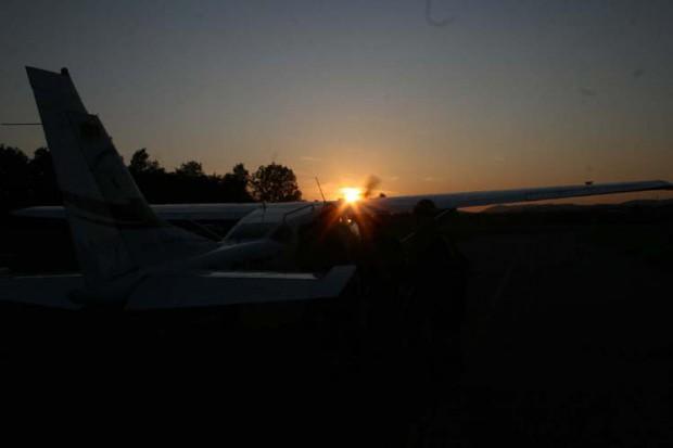 start-beim-sonnenuntergang