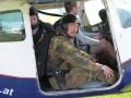 Absprung aus der Cessna 182