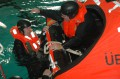 Rettungsinseltraining