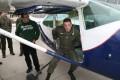 Exituebung an der Cessna 182