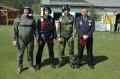 Die erste Grunggruppe mit Colonel Gajdos