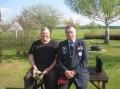 Praesident Nawrozki und Colonel