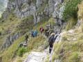 Bergmarsch im Gleishang