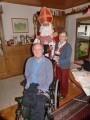 Besuch bei unserem schwerstbehinderten