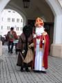 Vor dem Mittertor in Rosenheim