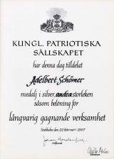 Kungl. Patriotiska Saellskapet