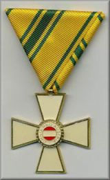 GFM Radetzky Verdienstkreuz in GOLD