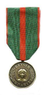 Mérite Philantropique La Médaille de Bronze