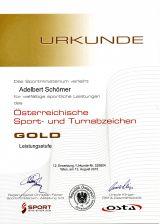 OESTA in GOLD