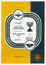 Krav Maga Medal in SILVER Document