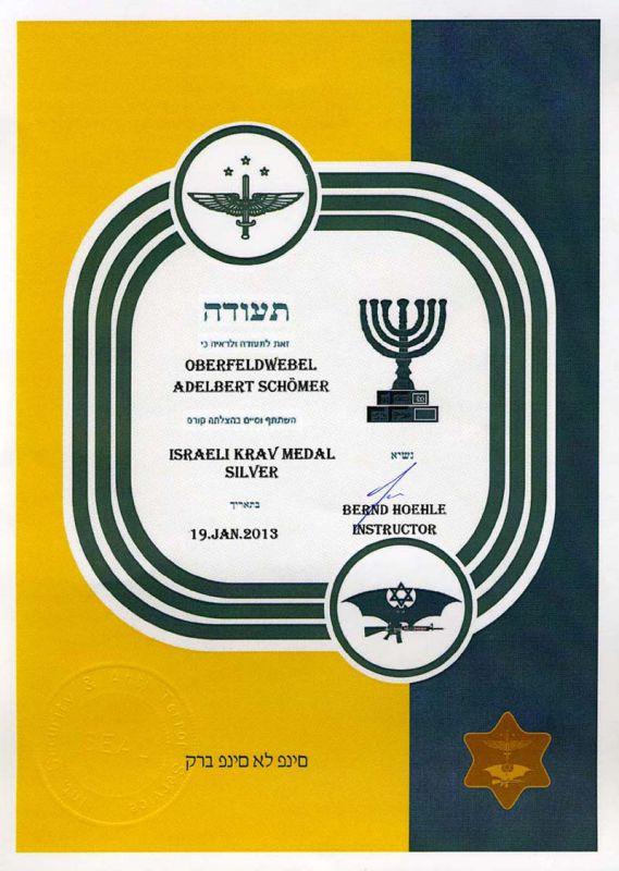 krav-maga-medal-in-silver-document