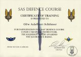 SAS Defence Course Document