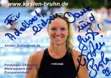 Autogramm Kirsten Bruhn