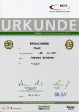 Das Deutsche Sportabzeichen 2011