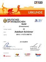 Das Deutsche Sportabzeichen 2014