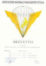 Breveto Army Italy