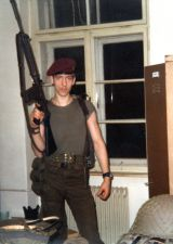 Als junger Jagdkommandosoldat