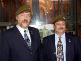Mit Jagdkommando-Buddy Konard Schlosser