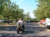Mit dem Naturwacht-Motorrad